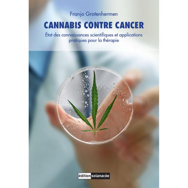 Couverture du livre Cannabis contre le cancer